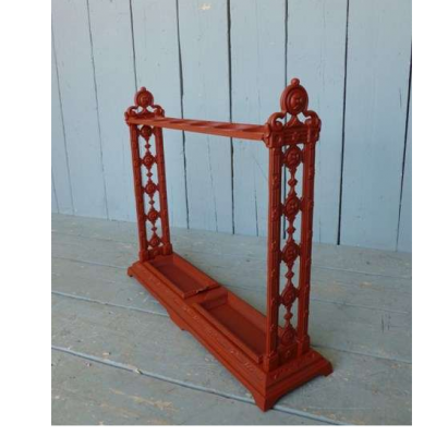 Antique Old Cast Iron Stick Stand