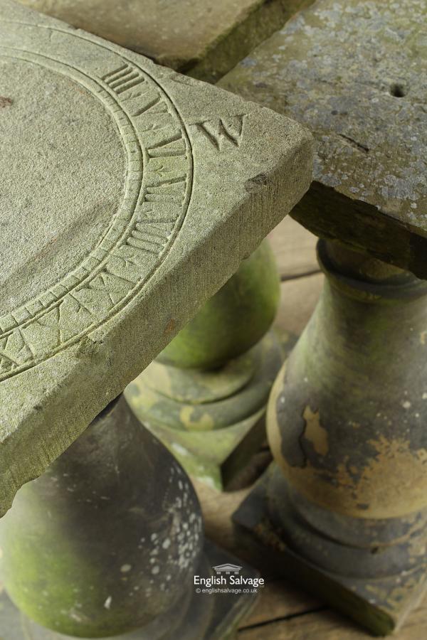 Stone Balustrade Sundial Bases Plinths