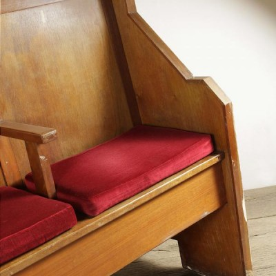 Salvaged Synagogue Benches / Pews