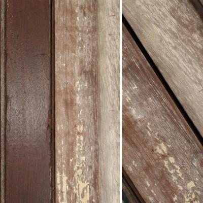 Reclaimed Solid Mahogany Flooring - 9cm x 2cm