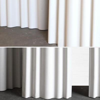 Corrugated Aluminium Panelling