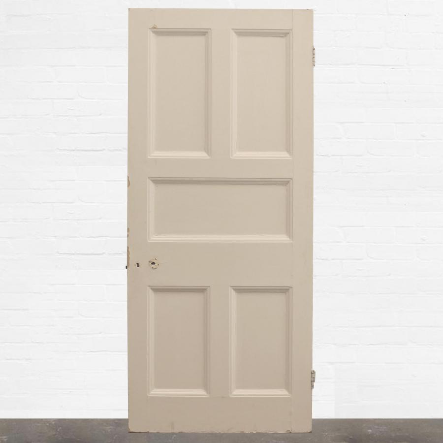 For Sale Victorian Five Panel Door 2095cm X 90cm Salvoweb Uk