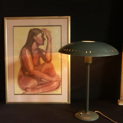 vintage 1970s Philips table lamp