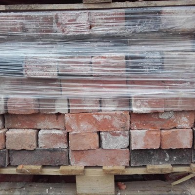 Reclaimed Hand Made Cheshire Red Bricks 2 1/2""