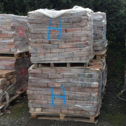 Reclaimed Handmade Cheshire Bricks