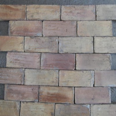 Reclaimed spanish terracotta tiles