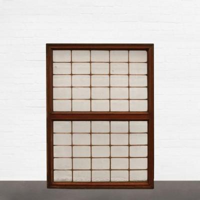 Antique Copperlight Window Panel