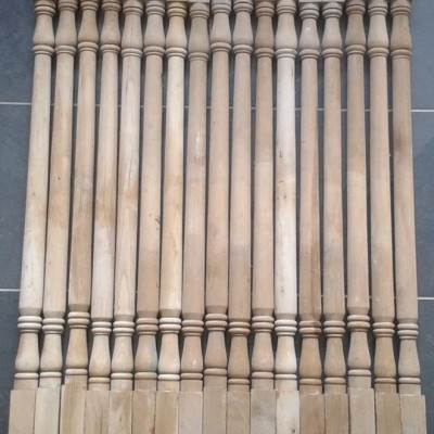 Victorian staircase spindles