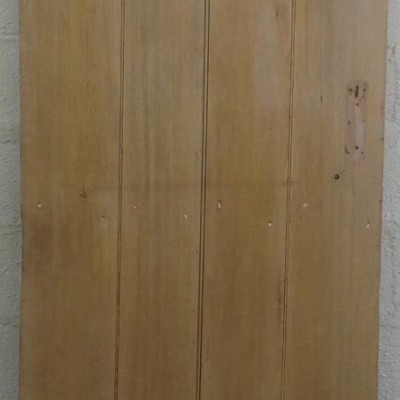 2 plank  ledged pine door