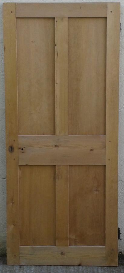 Victorian 4 panel pine door.