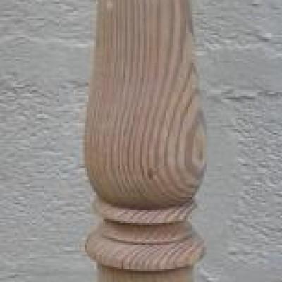 Victorian pine newel post.