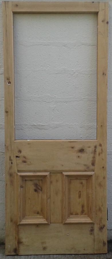 Glazed Victorian door