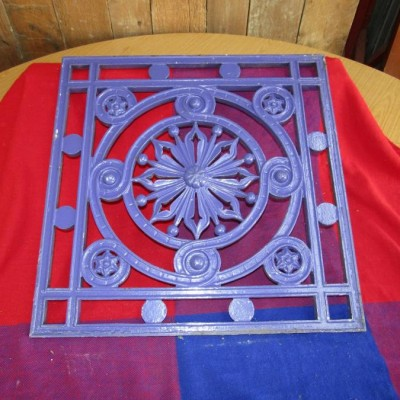 Fantastic Victorian cast iron decorative panels.