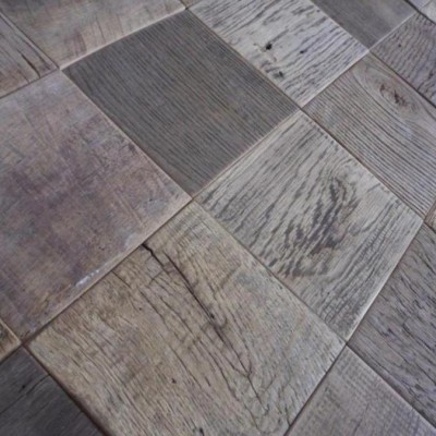 Antique oak tiles