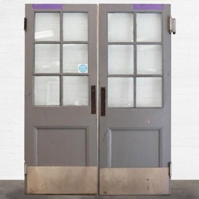 Victorian Pine Double Doors 212 x 154cm