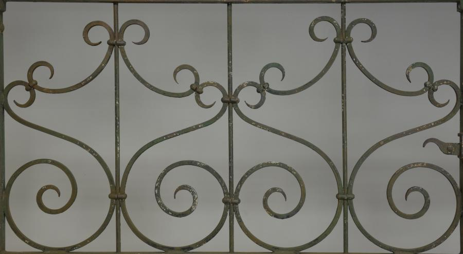antique scrolled wrought iron  gates