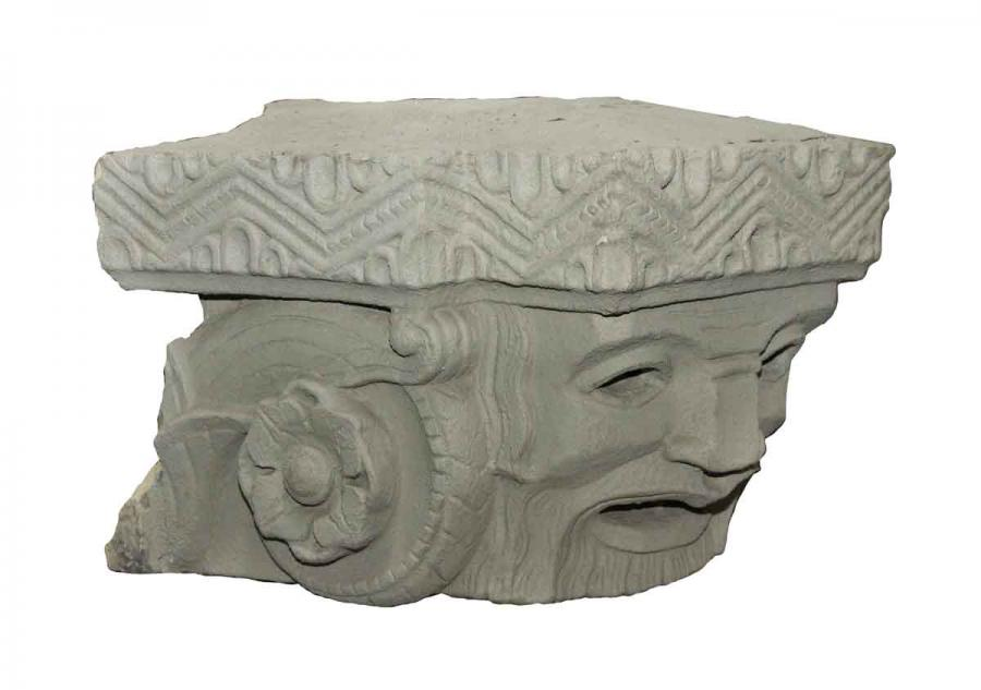 Unusual Deco Style Terra Cotta Heads