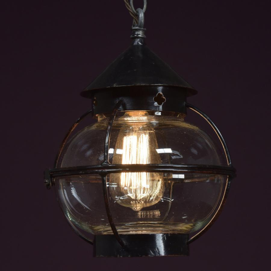 antique globe lantern