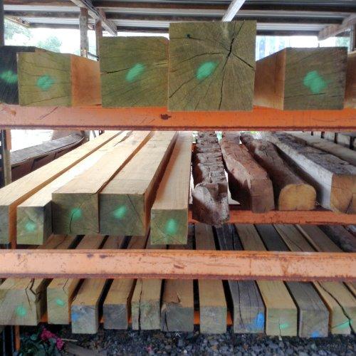 Large Quantity Oak Beams