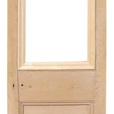 Antique Pine Glazed Front Door