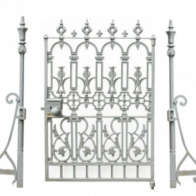 19th Century 'w.a Baker & Company' Cast Iron Gate