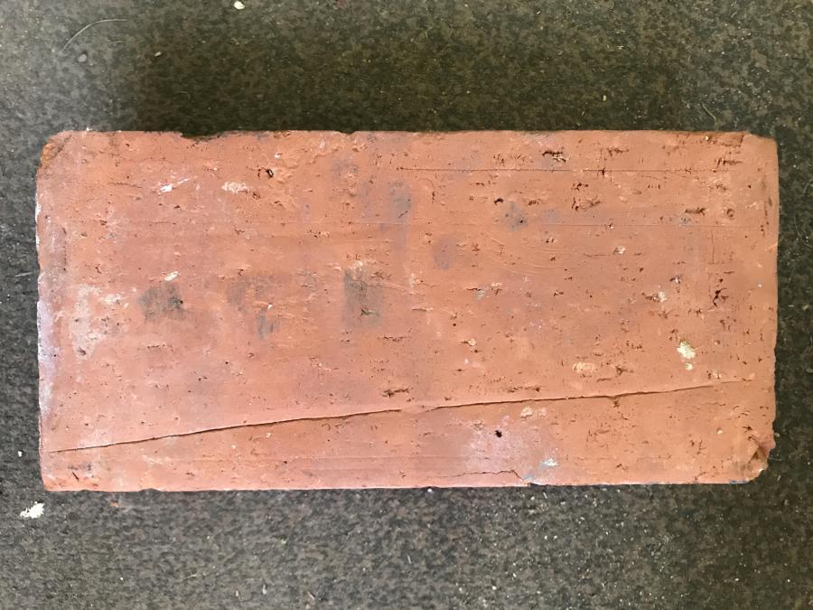 Reclaimed red bricks / pavers