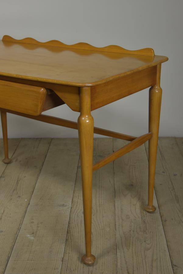 Heals writing table desk - 1950s
