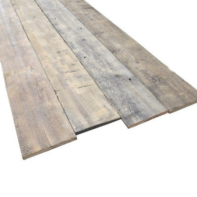 Re Sawn Wooden Antique Reclaimed Pine Square Edged Floorboards