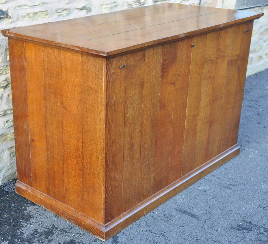 Oak  side altar , table, bar, shop counter