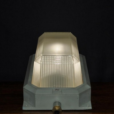 1940s Holophane bulkhead lights