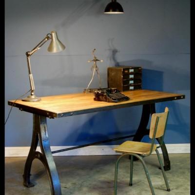 Vintage Industrial Desk / Table