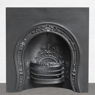 Antique Reclaimed Cast Iron Insert