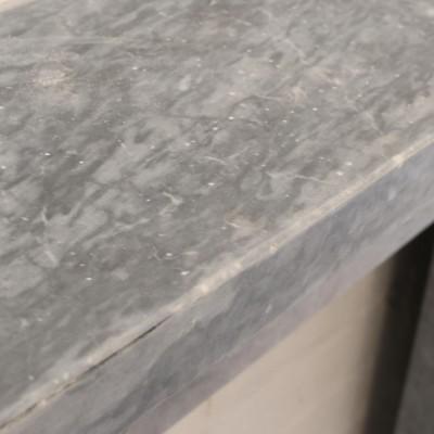 Victorian Dark Grey Marble Surround