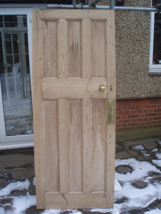 For sale - 1920s / 30s Original 6 panel Wooden doors & For Sale For sale - 1920s / 30s Original 6 panel Wooden doors ...
