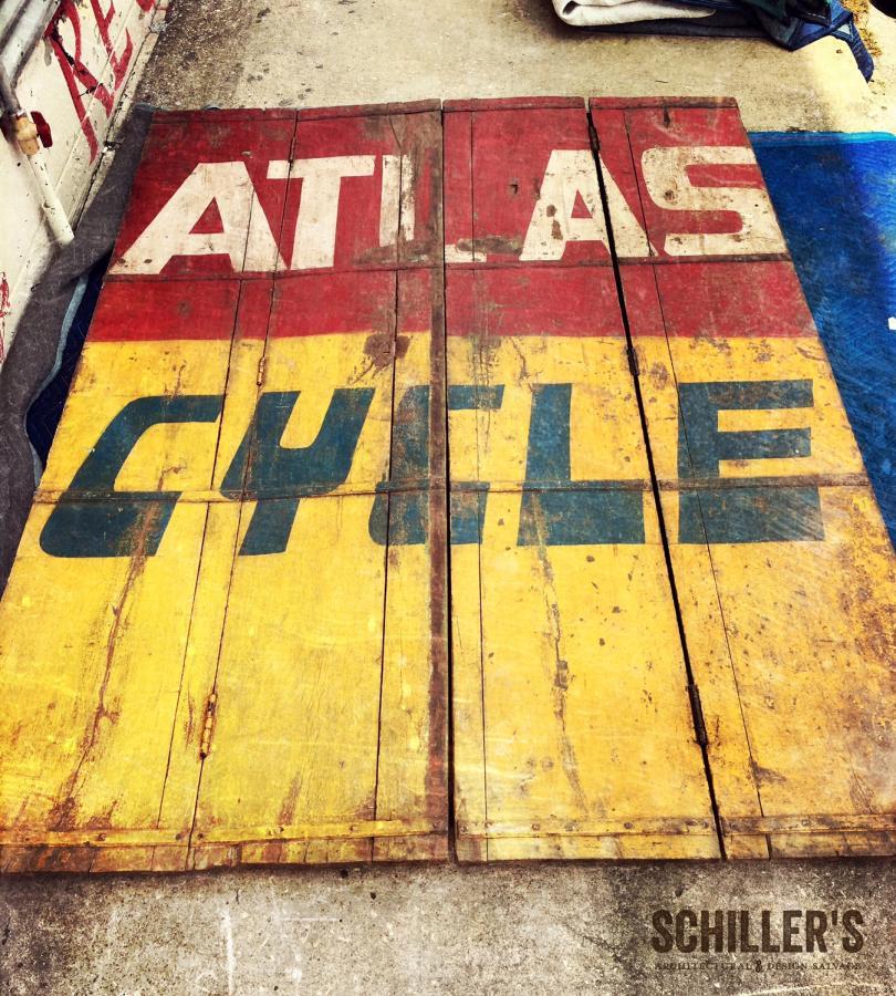 Atlas Cycle Signage