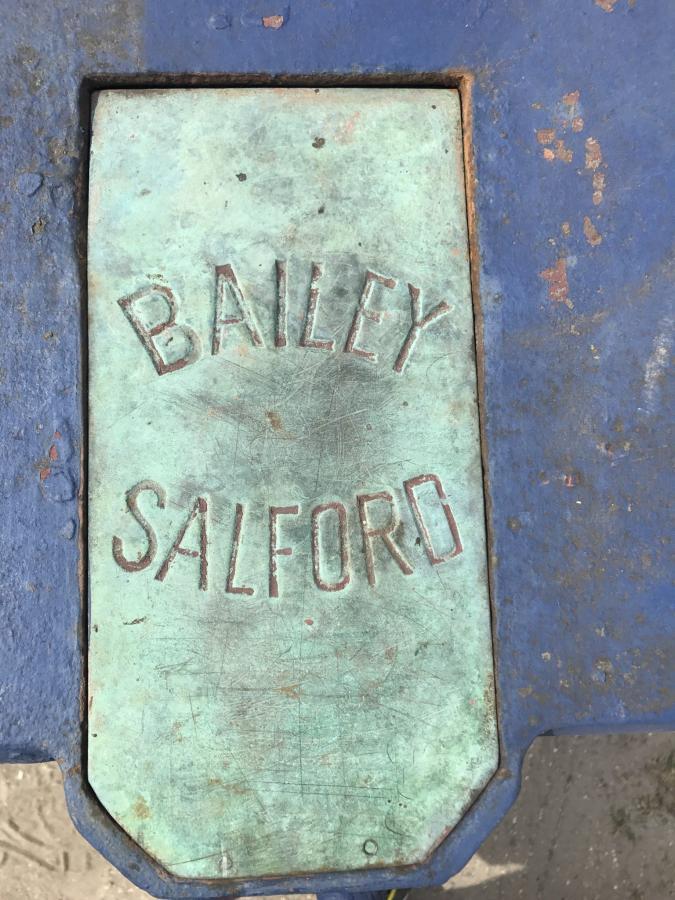 Antique Bailey Salford Cast Iron Turnstile
