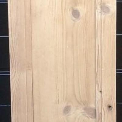 Victorian pine cupboard door.