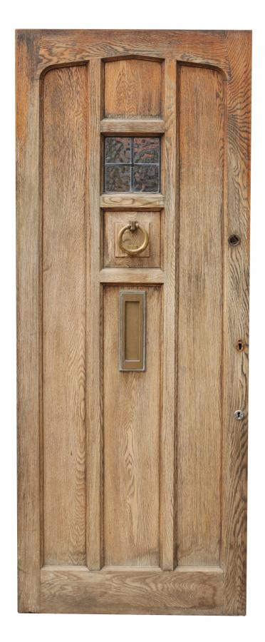 Groovy Antique Amp Reclaimed Listings 1930S Oak Front Door Salvoweb Uk Door Handles Collection Olytizonderlifede