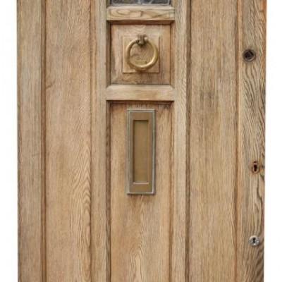 1930s Oak Front Door