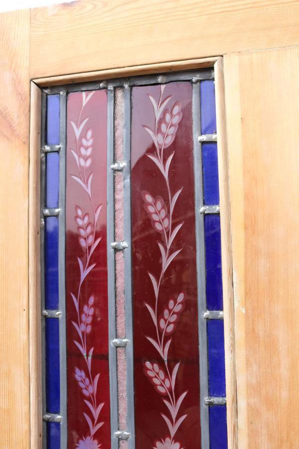 For Sale Victorian Stained Glass Interior Door Salvoweb Uk