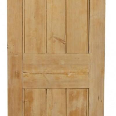 Stripped Pine Four Panel Internal Door