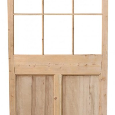 Victorian Stripped Pine Screen