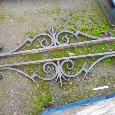 wrought and cast iron decorative bracket