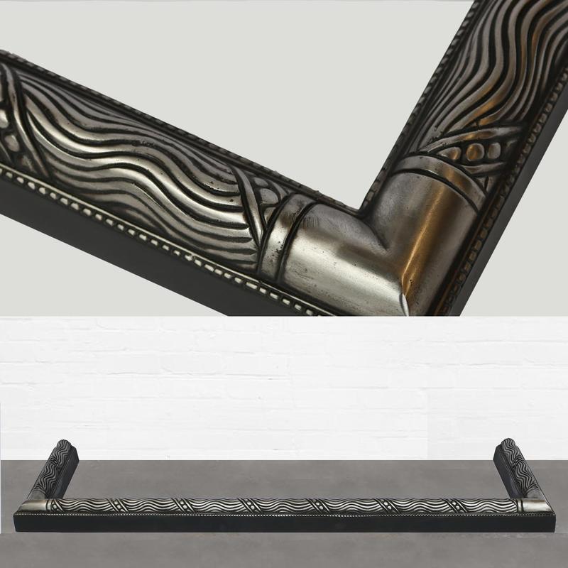 for sale art nouveau style fire fender salvoweb uk