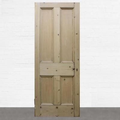 Reclaimed Solid Pine Door Stripped - 201 x 80.5