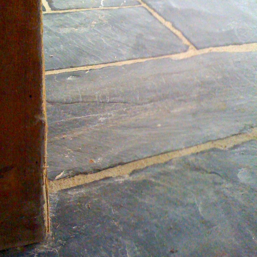 Dallage, dalle Ardoise - reclaimed slate - schiste flagstones