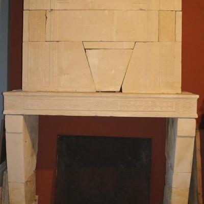 Cheminée Directoire / Antique French Directoire fireplace